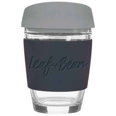 Leaf & Bean Sorrento Glass Travel Cup, Grey