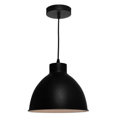 Dome Metal Pendant Lighting, Black