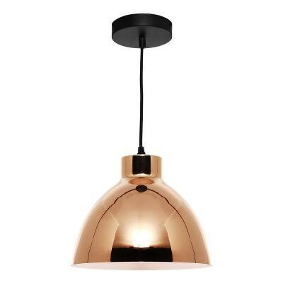 Dome Metal Pendant Lighting, Gold