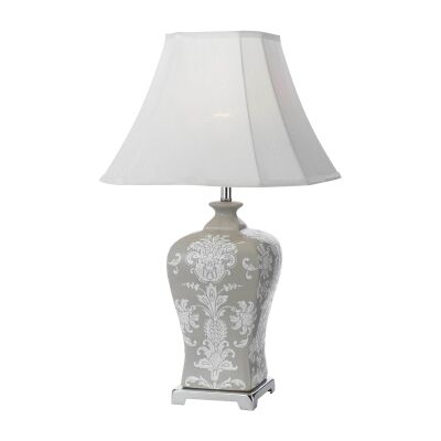 Dono Ceramic Base Table Lamp, Small