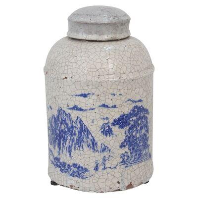 Nanjing Terracotta Lidded Jar - Small
