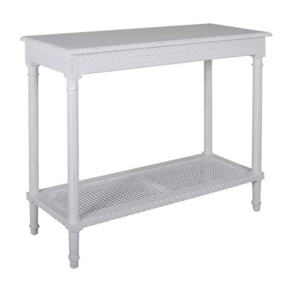 Polo Wooden 110cm Console Table - White