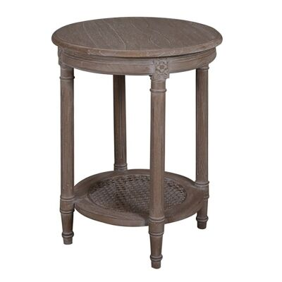 Polo Wooden Round Occassional Table - Oak Wash