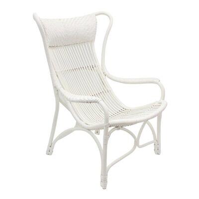 Bahamas Rattan Chair - White