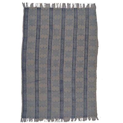 Elsa Stars and Stripes Cotton Rug, 120x180cm
