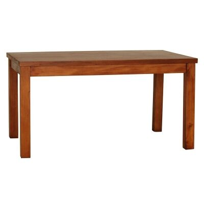 RPN Mahogany Timber Dining Table, 150cm, Light Pecan