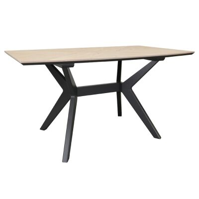 Jersore Wooden Dining Table, 150cm