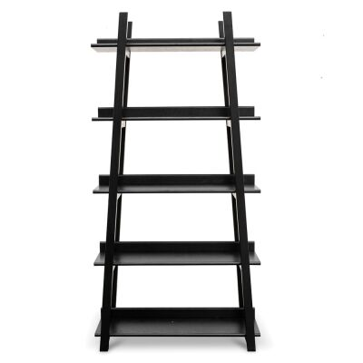 Merete Wooden Display Shelf, Black