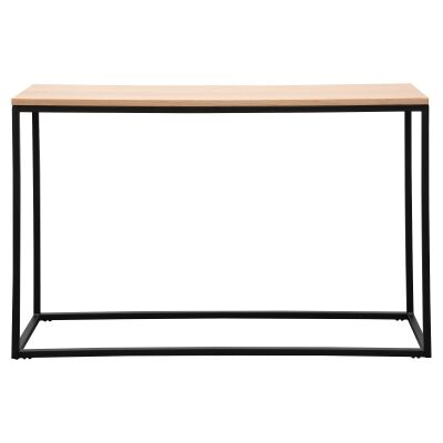 Coree Wood & Metal Console Table, 120cm