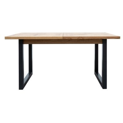 Noakes Timber & Metal Extendable Dining Table, 158-203cm