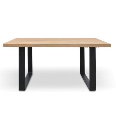 Darton Reclaimed Timber & Steel Dining Table, 170cm