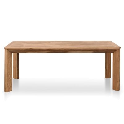 Otway Elm Timber Dining Table, 200cm