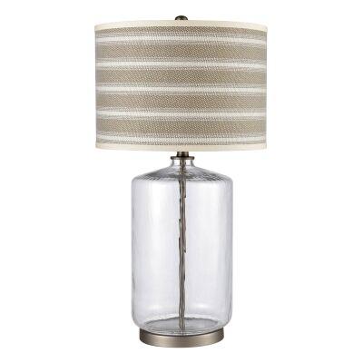 Prescott Glass Base Table Lamp