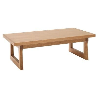 Pinehurst Victoria Ash Timber Coffee Table, 135cm