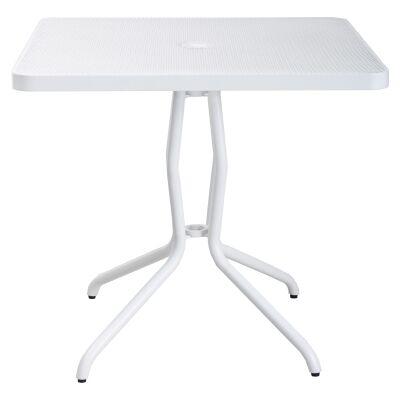 Trevi Commercial Grade Steel Square Balcony Table, 80cm