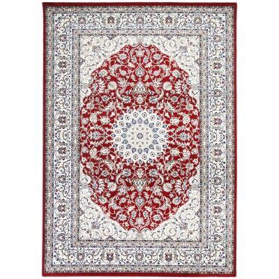 Dynasty Rae Oriental Rug, 330x240cm, Red
