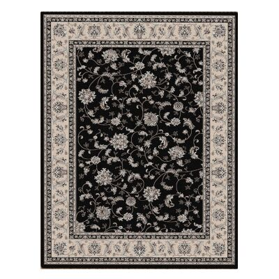 Shiraz Parisa Oriental Rug, 160x230cm, Black