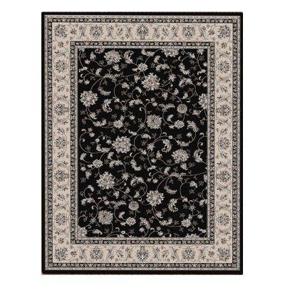 Shiraz Parisa Oriental Rug, 80x150cm, Black