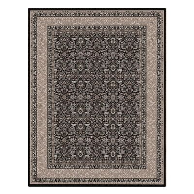 Shiraz Kyra Oriental Rug, 80x150cm, Black