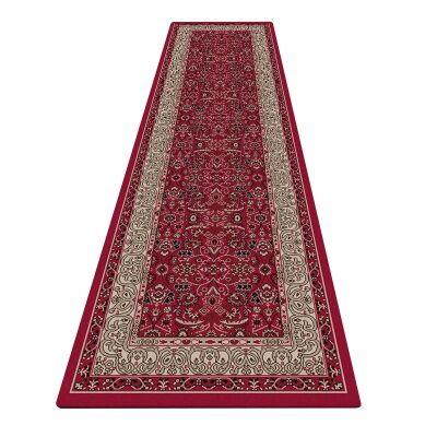 Shiraz Kyra Oriental Runner Rug, 80x300cm, Red