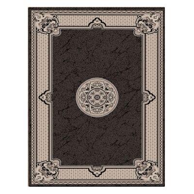 Shiraz Margaret Oriental Rug, 80x150cm, Black