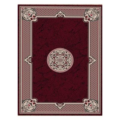 Shiraz Margaret Oriental Rug, 80x150cm, Red