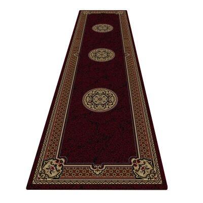 Shiraz Margaret Oriental Runner Rug, 80x300cm, Red