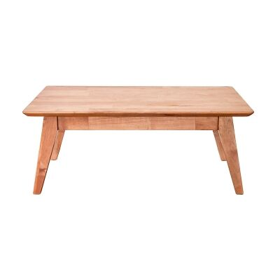 Bradlee Mountain Ash Timber Coffee Table, 110cm