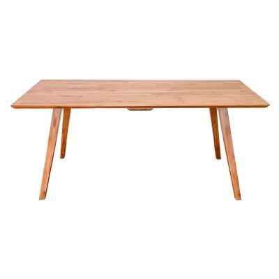 Bradlee Mountain Ash Timber Dining Table, 155cm