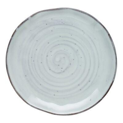 Ecology Ottawa Stoneware Side Plate, Lichen