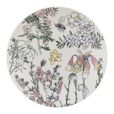 Ecology May Gibbs Flower Babies Fine China Side Plate