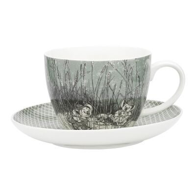 Ecology Blinky Bill New Bone China Cup & Saucer Set, Green