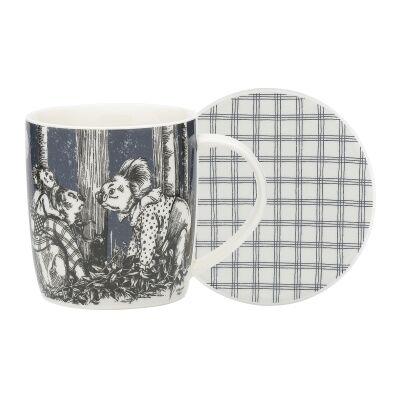 Ecology Blinky Bill New Bone China Mug & Coaster Set, Ink