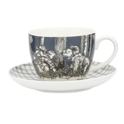 Ecology Blinky Bill New Bone China Cup & Saucer Set, Ink