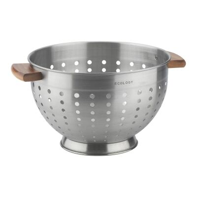 Ecology Provisions Stainless Steel Colander, 24cm
