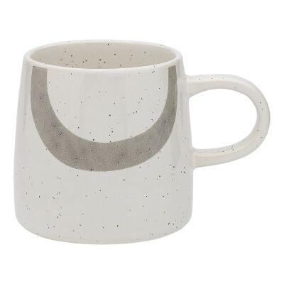 Ecology Nomad Stoneware Mug, Grey / White