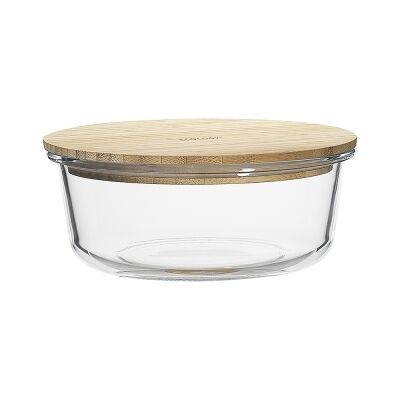 Ecology Nourish Round Glass Container, 19.5cm