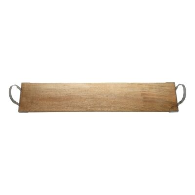Ecology Arcadian Mango Wood Long Serving Board with Handles