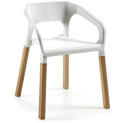 Rivulet Dining Armchairs - White
