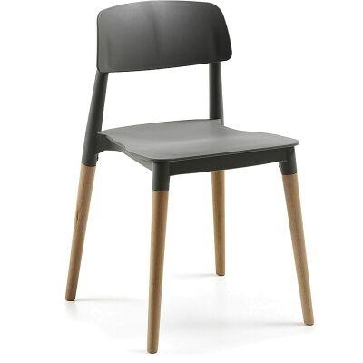 Risley Dining Chairs - Grey