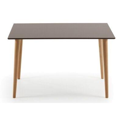 Dallington 120cm Rectangular Dining Table - Brown/Natural