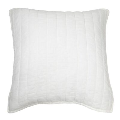 ED By Ellen Degeneres Marmont Cotton Euro Cushion, White
