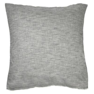 ED By Ellen Degeneres Belmont Cotton Euro Cushion, Soot