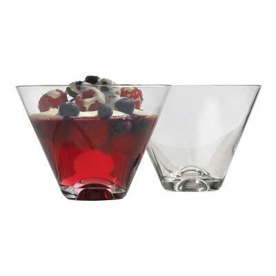 Ecology Classic V-shape Dessert Glass, Set of 4