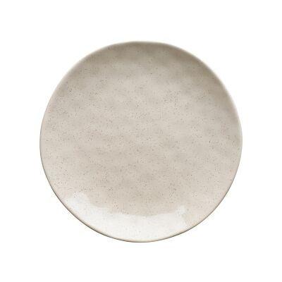 Ecology Speckle Stoneware Side Plate, Oatmeal