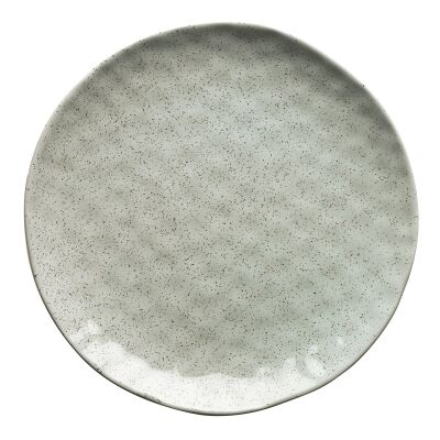 Ecology Speckle Stoneware Dinner Plate, Duck Egg