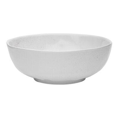 Ecology Speckle Stoneware Bowl, Milk