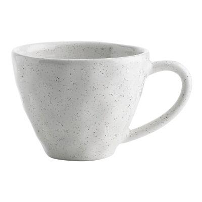 Ecology Speckle Stoneware Mug, Milk
