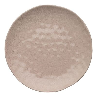 Ecology Speckle Stoneware Dinner Plate, Cheesecake