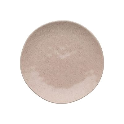 Ecology Speckle Stoneware Side Plate, Cheesecake